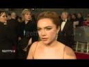2018 год / 18 февраля ›› Интервью на премии «BAFTA»