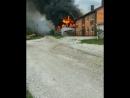 15 09 18 горит АМ сервис в Кирилловке