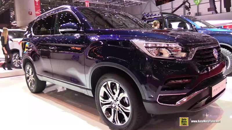 2018 Ssang Yong Rexton - Exterior and Interior Walkaround - 2018 Geneva Motor Show