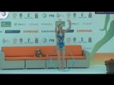 Полина Шматко - обруч (финал) // Чемпионат Европы 2018