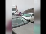 Более 50 машин столкнулись на трассе в Мексике