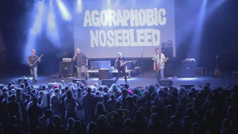 Agoraphobic Nosebleed Bitchs HandbagKill ThemeBuiltPantheon LIVE