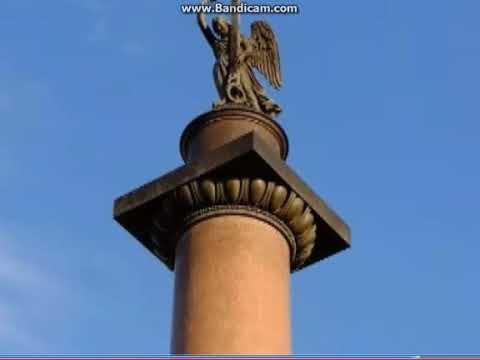 Александрийский столп в 14 ВЕКЕ В Радзивиловской ЛЕТОПИСИ