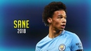 Leroy Sane 2018 ● Young Player of the Year Skills Show