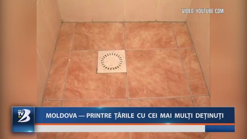 MOLDOVA - PRINTRE ȚĂRILE CU CEI MAI MULȚI DEȚINUȚI