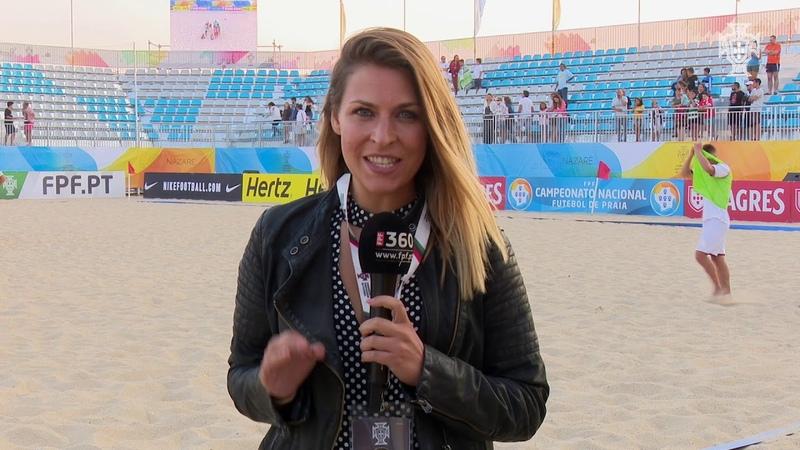 CN Futebol de Praia emoções fortes no primeiro dia da fase final