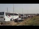 Автобусы с бармалеями из Ирбина в Идлиб не зеленые (бананьев нэма) 24 марта 2018 :