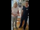 Итоги первого занятия лечебной физкультурой Марии Герасимовны
