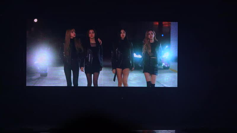 181110 BLACKPINK car vcr @ BLACKPINK WORLD TOUR [IN YOUR AREA] in Seoul (day 1)