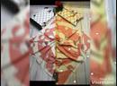 👍👍Новинки Платки с ручной обработкой 🎄🎄Рамер 100cm✖️100cm 🎄🎄Материал 100Silk 🎄🎄Цена Платки 300р Цена Набор 450
