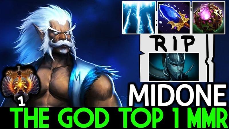 Midone [Zeus] The God Top 1 MMR Delete PA 7.19 Dota 2