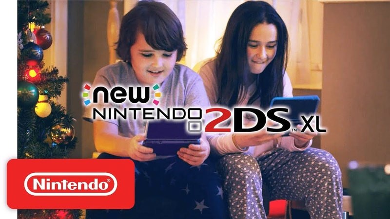 Join the World of Nintendo This Holiday - New Nintendo 2DS XL