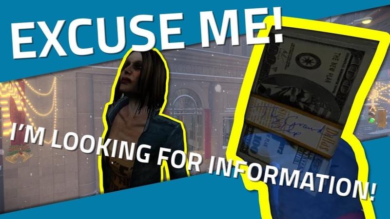 [Payday 2] - Offering Random Strangers $20K For Information on Bain (NOT CLICKBAIT!!)