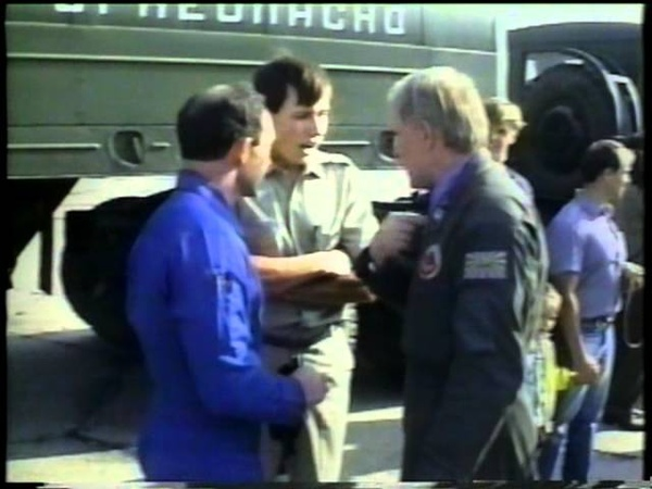 Blue Angels trip in Moscow, Russia, 1992