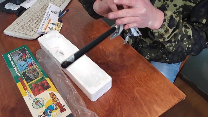 Автомат для проветривания теплицы Дуся Сан краткий обзор