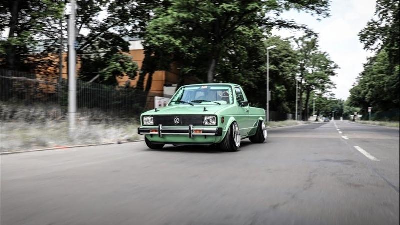 VW CADDY MK1 V8 14D | Adam Mucha | Flygarage | VWHome