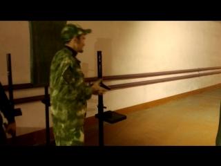 1 октября 2018 года День Сухопутных Войск.Стрельба из пистолета Байкал.