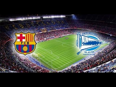 Барселона Алавес 3 0, все голы и опасные моменты, 18 08 2018, дубль Месси, гол Коутиньо, Ла Лига 1