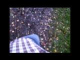 Техника ходьбы на костылях по бездорожью, прогулка по лесу