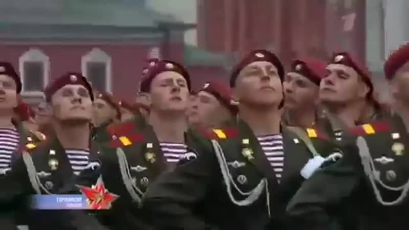 Rossijskij marsh na den pobedy pod epichnuyu muzyku (MosCatalogue.net)