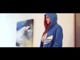 British girl Lucy Vixen Sexy BTS in blue hoody