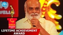 SIIMA 2014 Lifetime Achievement Award to K. Raghavendra Rao by Chiranjeevi & Sridevi