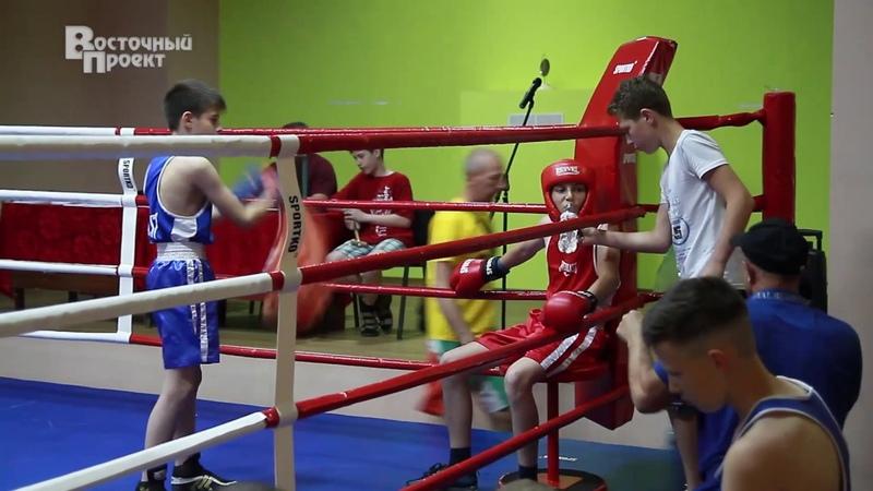В Краматорске прошел открытый городской турнир по боксу