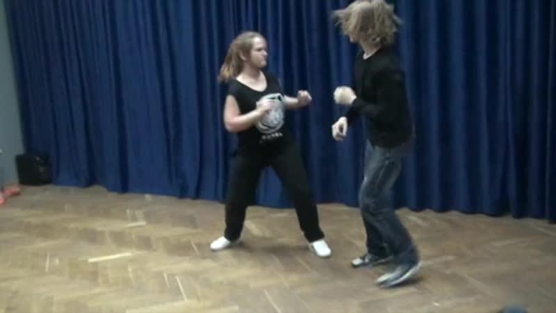 Сценический бой