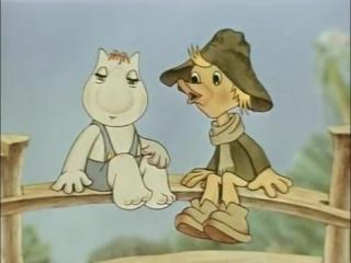 Все дело в шляпе (1980). Советский мультфильм про Муми-троллей