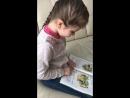 Бажена учится читать 👩🎓