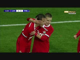1-0 Куль 13' «Локомотив» - «Порту»