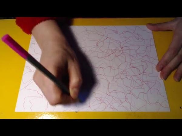 Нейрографика - осваиваем пространство листа