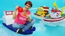 Мультик про кораблик Элаяс из игрушек. Видео с Машей Капуки