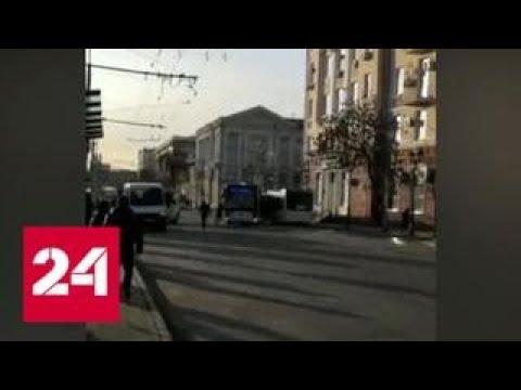 Ростовский водитель пытался остановить автобус