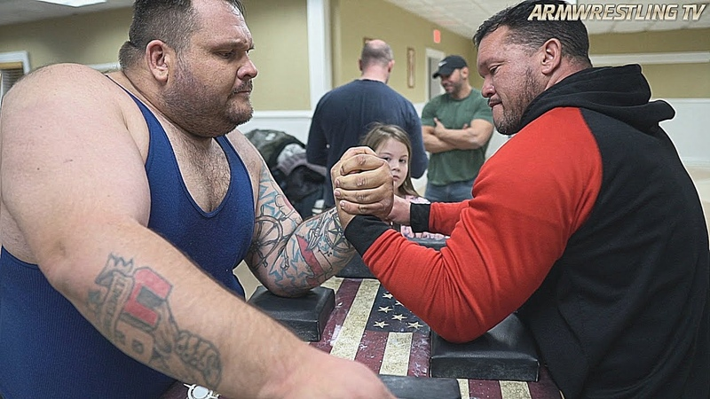 ARM WRESTLING TRAINING with BEAST MODE TEAM