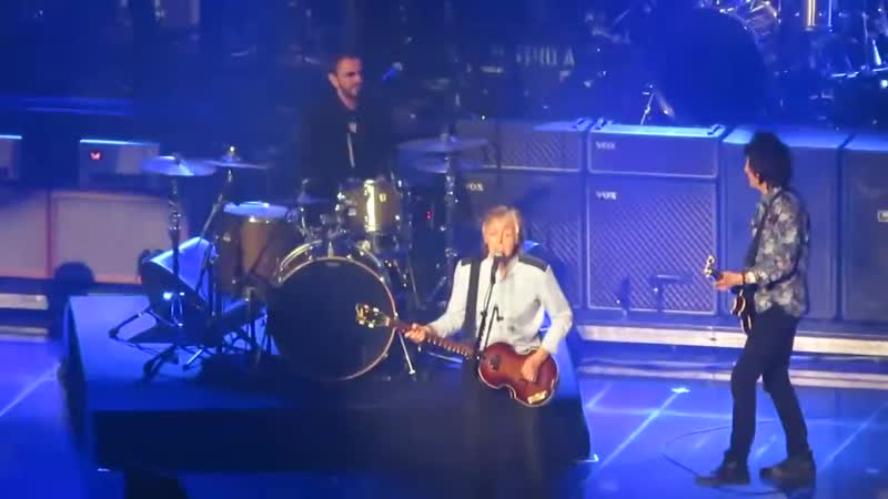 Paul McCartney Ringo Starr Ron Wood Get Back London 2018