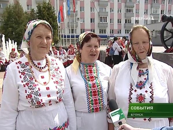 Гала-концерт фестиваля Деснянский хоровод прошёл на площади Партизан 12 06 18