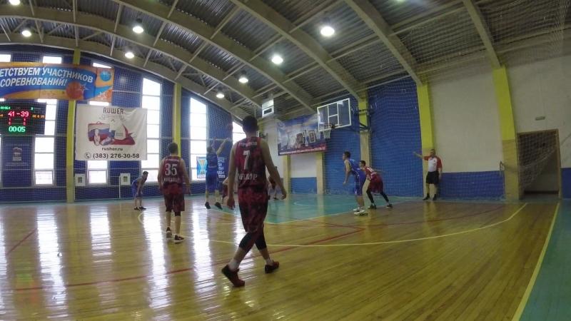 Юниор-Алтай баскет 3 период конец