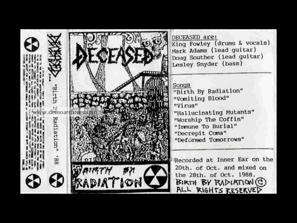 Deceased (US) - Birth by Radiation (Demo) 1988.avi