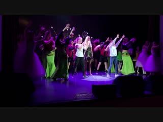 Репетиция XII фестиваля молодежного творчества «Свежий ветер-2018»