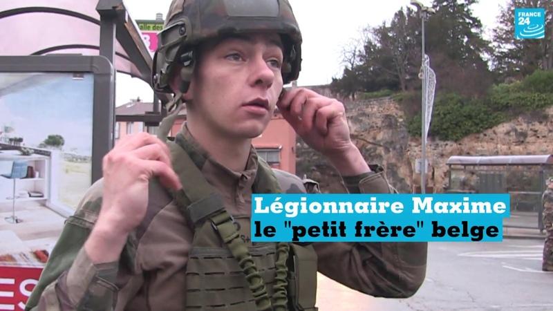 Portrait du légionnaire Maxime, le petit frère belge