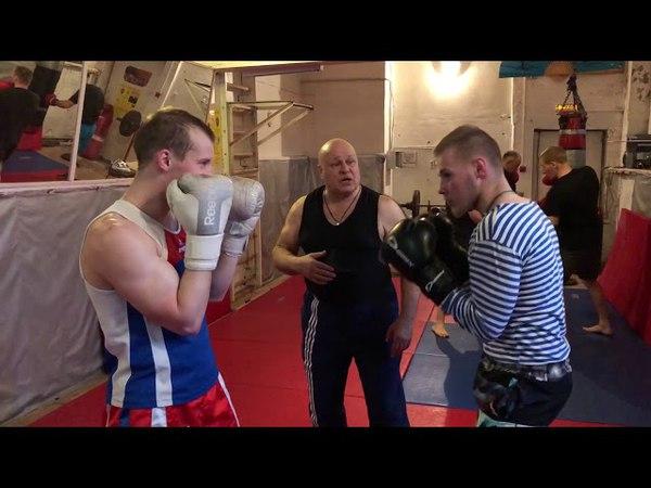 заслуженный тренер по боксу Кухарник Н А г Питкяранта 2018г