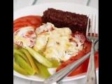 Филе трески запеченное в сметане🐠😋 приготовь себе вкусный и полезный ужин! ❤
