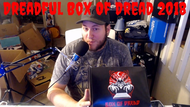 Box Of Dread Review / Unboxing - Who Knows What Month - Game Giveaway