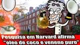 Pesquisa em Harvard afirma