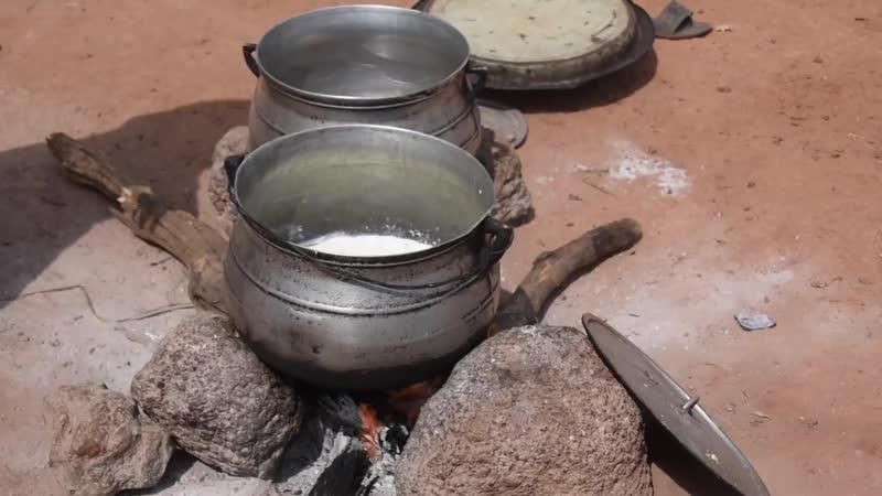 Производство сыра Вагаси в Бенине.