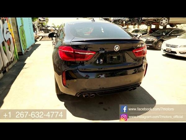 2018 BMW X6M - сэкономили около 50000$ , купили на страховом аукционе. Утопленник