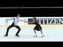 Арина Ушакова  Максим Некрасов -ПТ. Amber Cup - ISU Junior Grand Prix Kaunas