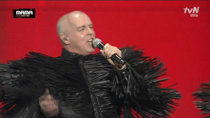 Pet Shop Boys Mnet Asian Music Awards Hong Kong 2nd December 2015