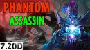 DOTA2 / НОВАЯ / PHANTOM ASSASSIN / 7.20d / НЕПОБЕДИМА